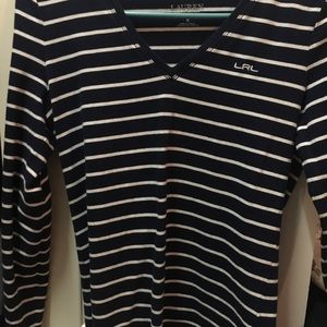 Ralph Polo long sleeve shirt-dark blue